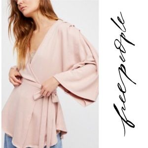 Free People - Neptune Wrap Tunic in Mink - Size M